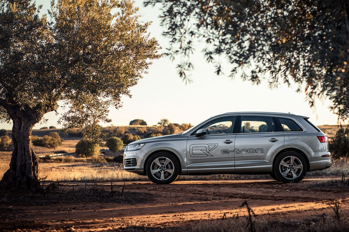The All New Audi Q7 E Tron Quattro Will Arrive In Australia In January  2018. The Latest Addition To The Award Winning Q7 Range And Audi E Tron  Ranks Brings ...