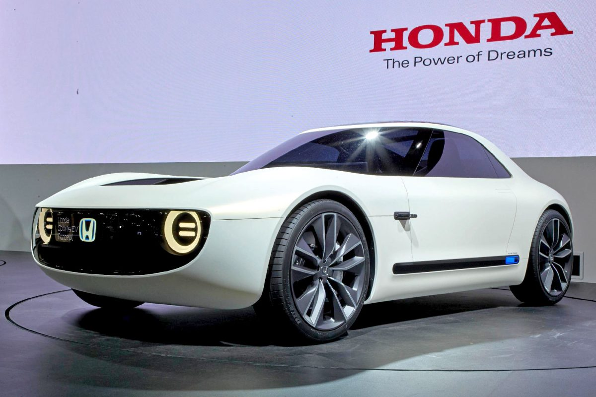 Etonnant Honda Have Unveiled Their New Sports EV Concept At The Tokyo Motor Show.  Details Are A Bit Hard To Come By But We Presume That The Car Will Be Based  On The ...