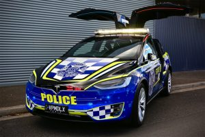 Victoria Police add the all-electric Tesla Model X to their Highway Patrol fleet