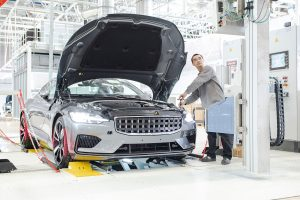 Polestar, Volvo & Geely's performance EV brand, open their new manufacturing facility