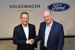 Ford to use Volkswagen's MEB Electric Vehicle Architecture in 600,000 new EV's