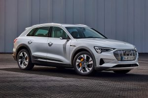 The new entry level all electric Audi e-tron 50 Quattro revealed ahead of 2020 release