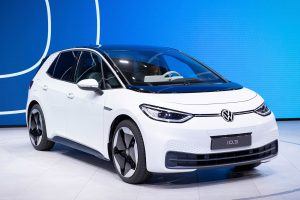 Volkswagen's first fully electric production car, the ID.3, makes its debut at the IAA in Franfurt