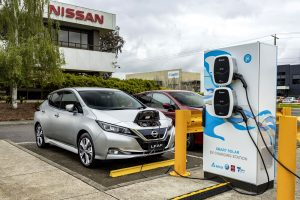 Nissan & CSIRO team up in Australian based EV solar power charging research project